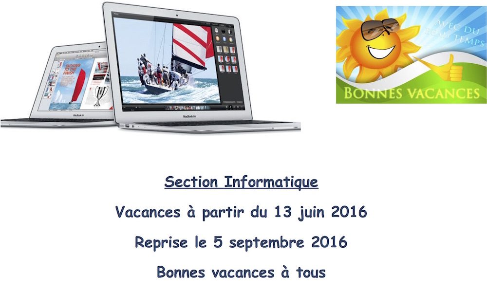 Section Informatique